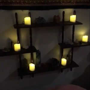 Other - Flameless Candle Set of 6 w/ Remote + Extras!